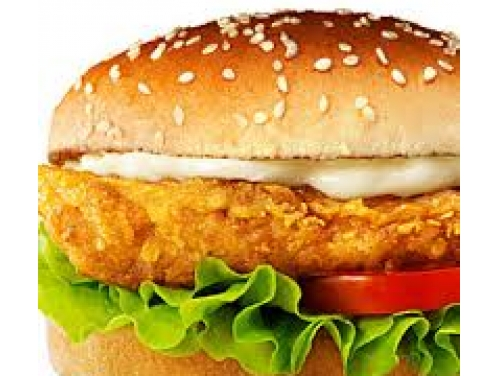 CHICKENCHEESE BURGER